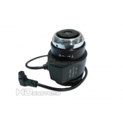 Kamerový systém / set, bezpečnostní kamera: Varifokální objektiv s automatickou DC clonou 3,5 - 8 mm