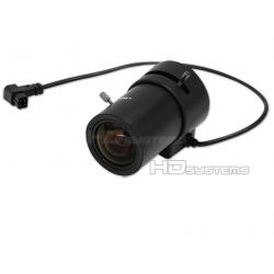 """Kamerový systém / set, bezpečnostní kamera: Varifokální objektiv s automatickou DC clonou 6 - 16 mm 1/3"""" CS F 1.4 (48° až 18°)"""
