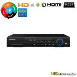 DVR ADELL HD-MHD1600P4 16 kanálů