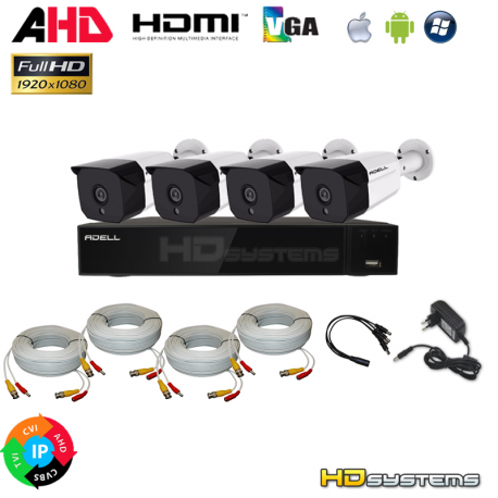 Kamerový systém /set HD-400PX5E4R36FHS
