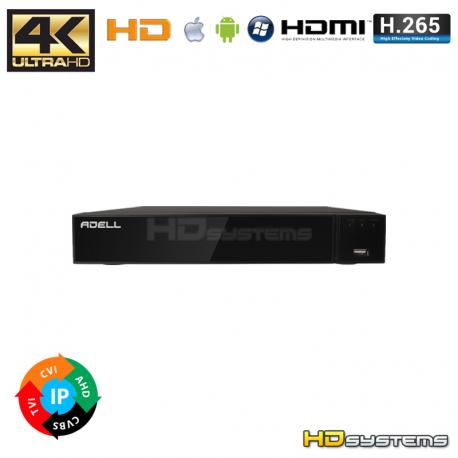 XVR ADELL HD-800PX8M