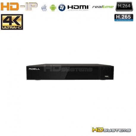 NVR ADELL HD-900IPXE 9 kanálů