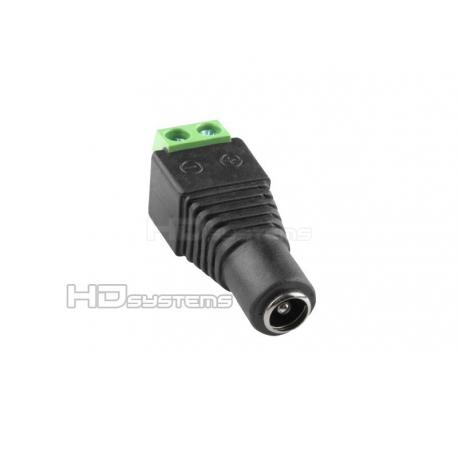 Kamerový systém / set, bezpečnostní kamera: Napájecí konektor zdířka