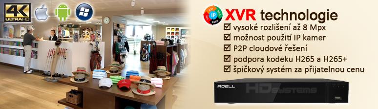 XVR technologie